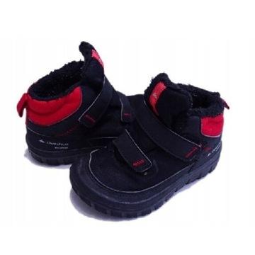 Zimowe buty z membraną nieprzemakalne