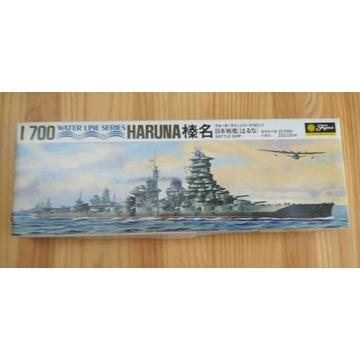 Japoński pancernik Haruna firmy Fujimi 1/700