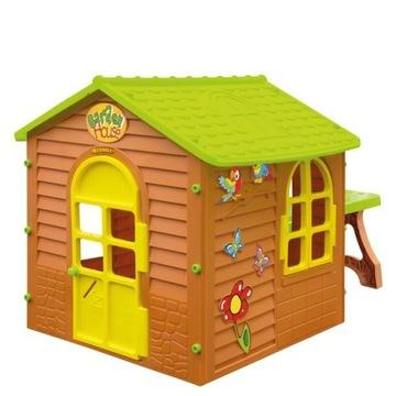 Domek ogrodowy dla dzieci Mochtoys 11045