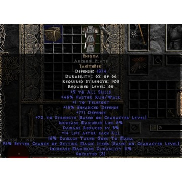 Enigma 15ed - Diablo 2 LOD NOWY LADDER
