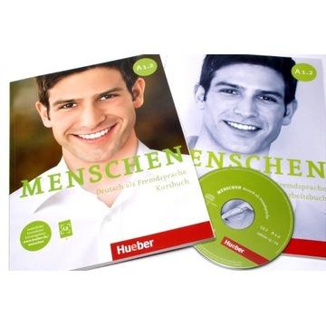 MENSCHEN A1.2 PODRĘCZNIK + ĆWICZENIA + CD