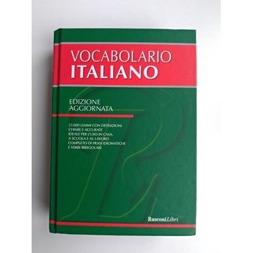 Słownik języka włoskiego - kupiony we Włoszech