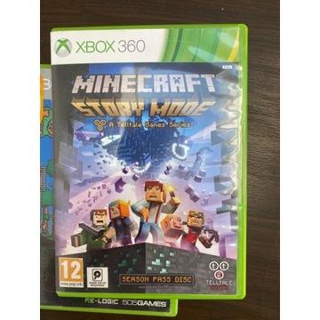 Gra minecraft story mode dla dzieci xbox 360