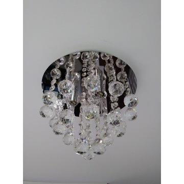Lampa sufitowa, plafon Loona, glamour