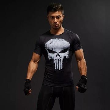 Punisher koszulka termoaktywna