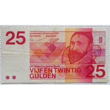 Holandia 25 guldenów 1971 Organista Jan Sweelinck