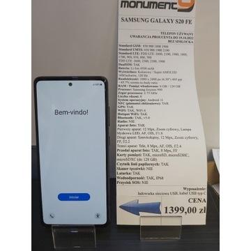 Samsung Galaxy S20 FE Niebieski Dual SIM GWARANCJA