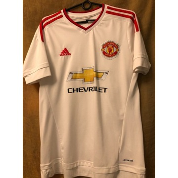 Koszulka Manchester United / M / 2015 / WYJAZDOWA