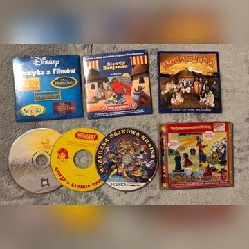 Muzyka z filmów, słuchowiska dla dzieci