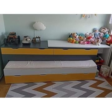 Łóżko 2 w 1 z biurkiem