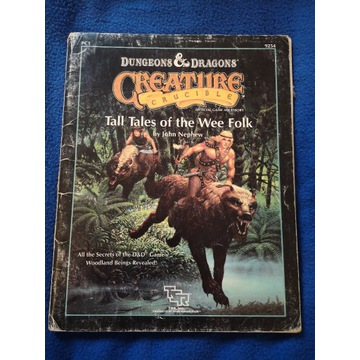 D&D Tall Tales of the Wee Folk - podręcznik RPG