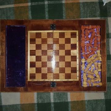 szachy szachownica stolik szachowy stan idealny