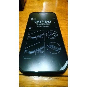 Smartphone CAT S42 telefon NOWY wytrzymały odporny