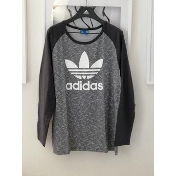 t shirt meski Adidas, długi rękaw