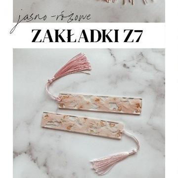 Jasno-różowa zakładka Z7 Holika