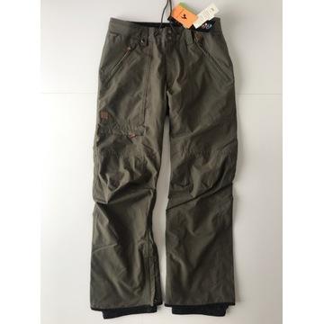 Quicksilver Elmwood spodnie narciarskie - oliwkowe