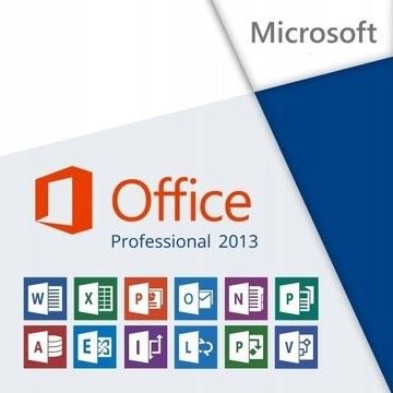 Office 2013 Professional Kod PL
