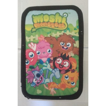 Piórnik Moshi Monsters z wyposażeniem NOWY