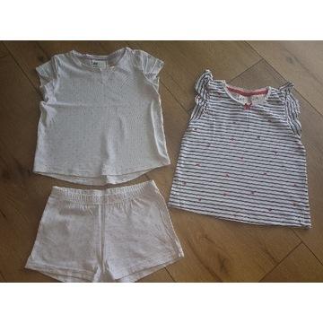 Piżamka h&m 98/104