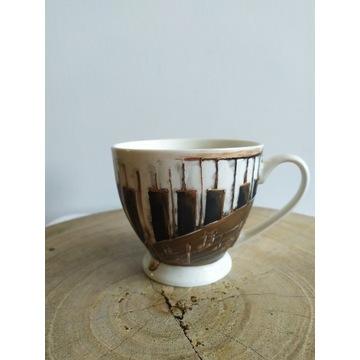 filizanka do kawy ręcznie malowana