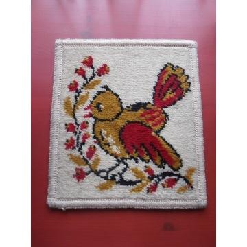 mały dywanik vintage retro PRL Weltom