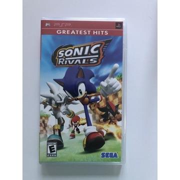 Gra Sonic Rivals na PSP.