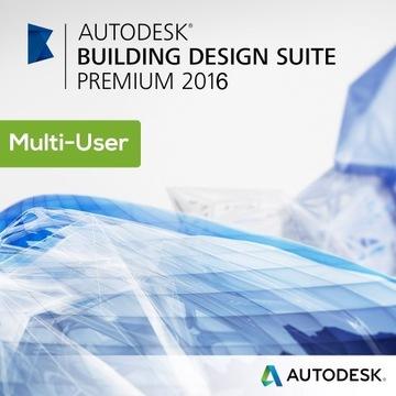 Autodesk Building Design Suite Premium 2016 - net