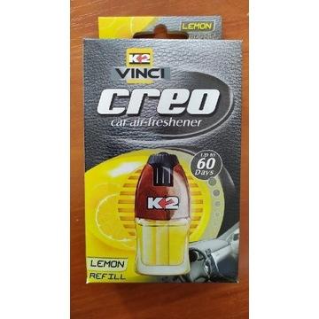 Zapach samochodowy wkład 10 sztuk K2