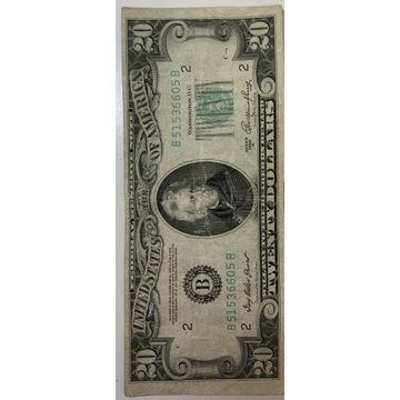 20 dolarów 1950 R.