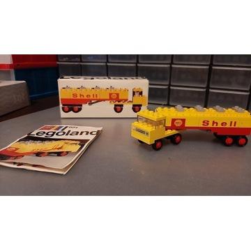 LEGO 621 Shell Tanker Tru  Instrukcja oraz pudełko
