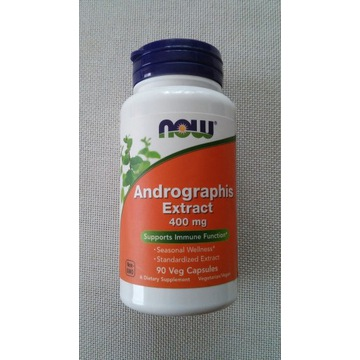 Now Andrographis Extract 400 mg 90 k