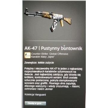 Ak-47 pustynny buntownik