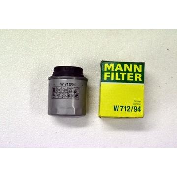 Filtr Oleju VW 1,2/1,4 TFSI  Mann Filter W712/94