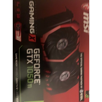 MSI GamingX GTX 1050Ti 4g