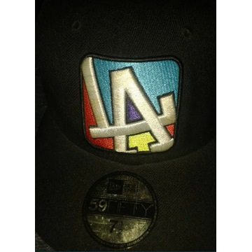 Czapka New Era Authentic Dodgers LA 7 1/2