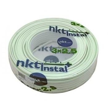 Przewód NKT YDYp żo 3x2,5 450/750V 50m