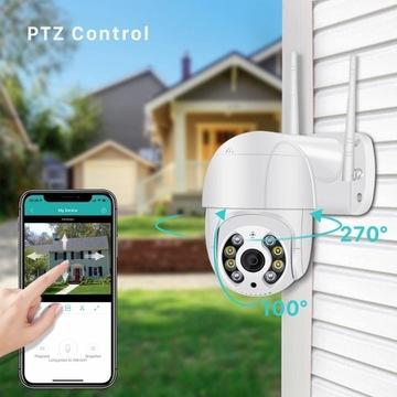 Kamera IP zewnętrzna z kartą 32g 4X Zoom.