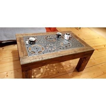 Stół stolik ława industrialna vintage retro