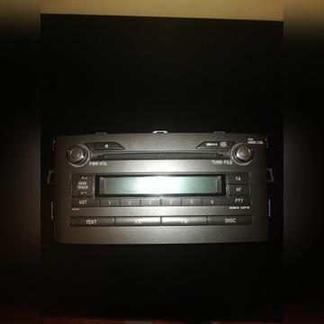Radio Toyota Auris 2007
