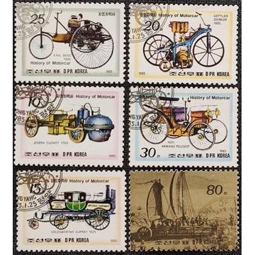 Motoryzacja - KOREA Płn.* 1985