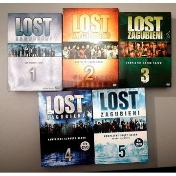 LOST Zagubieni 30 płyt DVD sezony 1-5