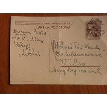 Kartka  z obiegu 30 VIII 1939r