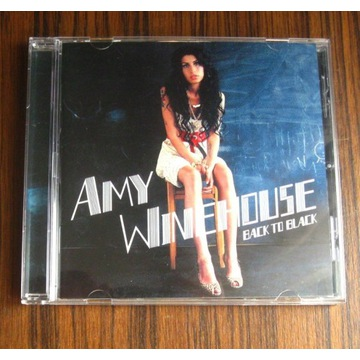 AMY WINEHOUSE - BACK TO BLACK  CD NM Super stan