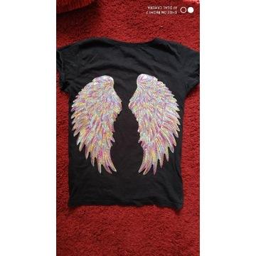 Koszulka bluzka Aplikacje Kolory Rozmiary XS-L