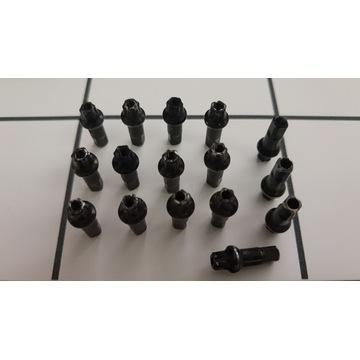Nypel szprych czarny 15mm 2.0 chyba Swiss 100szt.