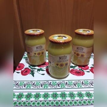 Naturalny miód słonecznikowy z Ukrainy
