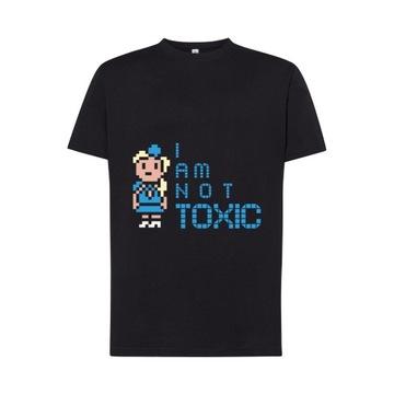 T-SHIRT Britney Spears - I am not Toxic / męski M