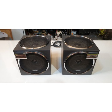 Elektronik FS-123 kolumienki aktywne, retro,stereo