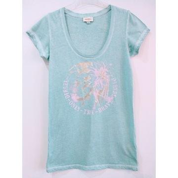 DIESEL t-shirt koszulka bluzka r 36 38