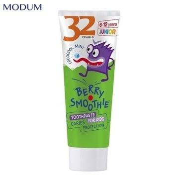 32 PEARLS JUNIOR pasta do zębów dla dzieci